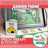 Apraxia of Speech Activities Garden Pack