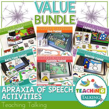 Apraxia of Speech Activities Value Bundle