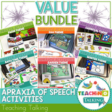 Apraxia Activities and Apraxia Boom Cards Value Bundle