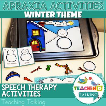 Apraxia of Speech Activities Winter Snow Pack