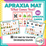 Apraxia Mat. What Comes Next? Follow the Pattern and Aprax