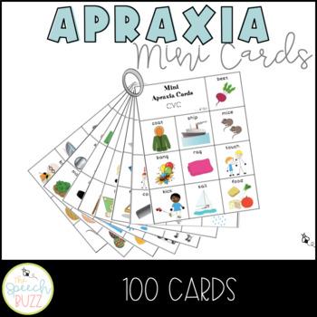 Apraxia Mini Cards