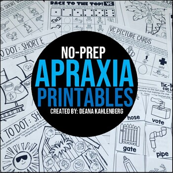 Apraxia {No Prep}