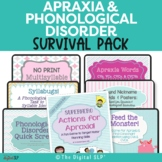 Apraxia & Phonological Disorder Survival Pack Bundle