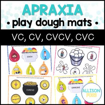 Apraxia Play Dough Mats Bundle