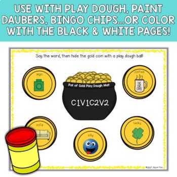 Apraxia Play Dough Mats - /k,g,f,s,r,l/