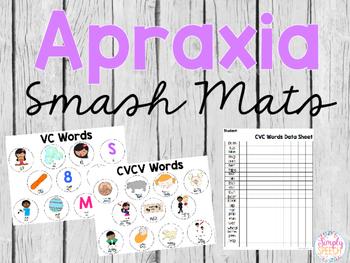 Apraxia Smash Mats + Data Sheets!