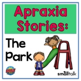 Apraxia Stories: The Park  Interactive Digital BOOM CARDS™ Deck