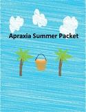 Apraxia Summer Packet