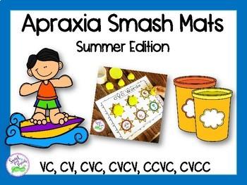 Apraxia of Speech Smash Mats: Summer Edition