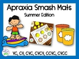 Apraxia of Speech Smash Mats: Summer Edition