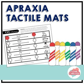 Apraxia Tactile Mats: Multi-Modal Cueing for Vowels (CV, VC, CVC, & CVCV Words)