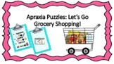 Apraxia: Two-Syllable Word Grocery Game
