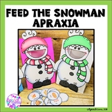Apraxia Winter Articulation Activity