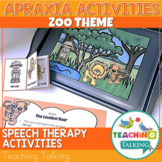 Apraxia of Speech Activities Zoo Pack