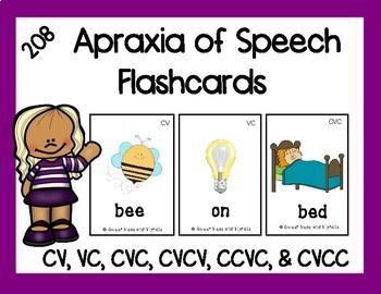 Apraxia of Speech Flashcards