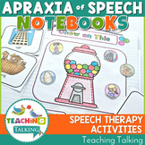 Apraxia of Speech Interactive Notebooks Bundle Distance Learning
