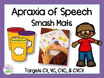 Apraxia of Speech Smash Mats