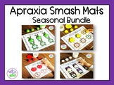 Apraxia of Speech Smash Mats: Seasonal Bundle