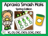 Apraxia of Speech Smash Mats: Spring Edition