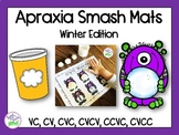 Apraxia of Speech Smash Mats: Winter Edition