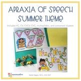 Apraxia of Speech Summer smash mats BUNDLE