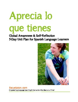 "Thanksgiving, Theme-Based 5-Day All-Inclusive Unit Plan ""Aprecia lo que tienes"""