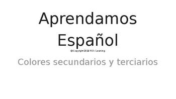 Aprendamos español - L3 - Colores secundarios y terciarios