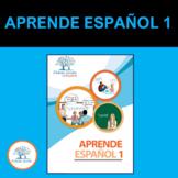 Aprende Español 1.  (Libro para la enseñanza del español, 35 sesiones de clases)