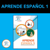 Aprende Español 1.  (Libro para la enseñanza del español,