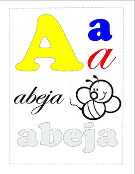 Aprende Español: Letra A.