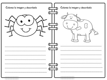 Aprende con Nino- descripciones de personas, animales y objetos