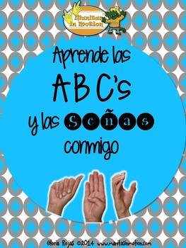 Aprende las ABC's y las Señas Conmigo - Songbook Mp3 Digital Download