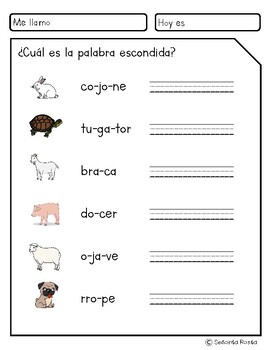 Aprende vocabulario: los animales domésticos