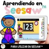 Aprendiendo Seesaw™