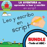 BUNDLE: LA AVENTURA de aprender a leer y escribir en SCRIP