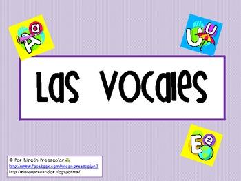 Aprendiendo las vocales!! / Learning vowels!