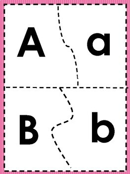 Aprendiendo los Pares de las Letras Mayusculas y Minusculas