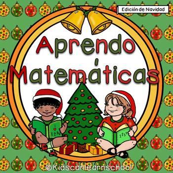 Aprendo Matemáticas.  Edición de Navidad