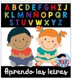 Aprendo las letras
