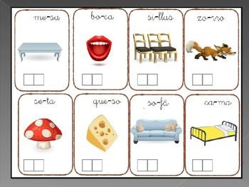 Aprendo las silabas