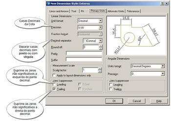 Apresentação em powerpoint sobre cotagem em desenho técnico