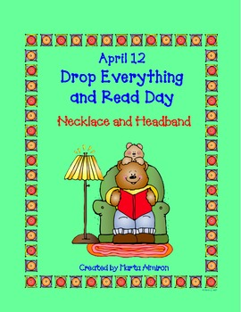 April 12: Drop Everything and Read Day  FREEBIE - Necklace