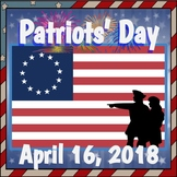 April 16 Patriots' Day Activity Pack