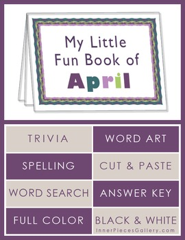 My Little Fun Book of April Helps Reinforce the Months of