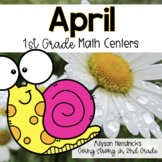 April 1st Grade Math Centers with Task Cards