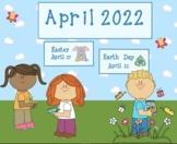 April 2019 Activboard Calendar Activities