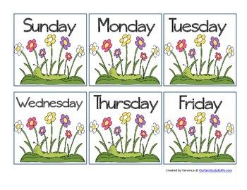 April 2015 Calendar Cards