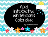 April 2021 Interactive Whiteboard Calendar
