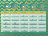 April 2015 Meme Calendar